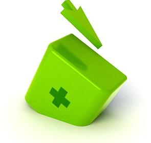 Логотип одна кнопка
