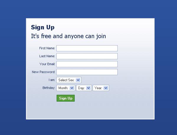 Удобная форма регистрации на сайте Wordpress
