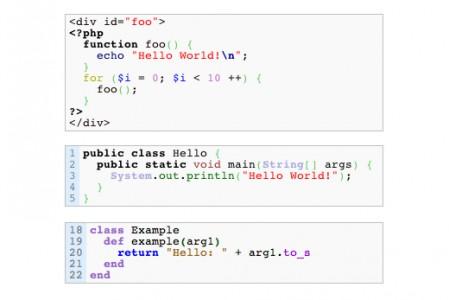 подсветка кода wp-syntax