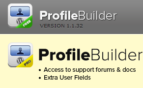 Плагин Profile Builder и login Sidebar форма регистрации на Wordpress для пользователей