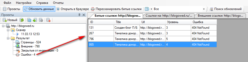 Page Weight Desktop - грамотная перелинковка сайта
