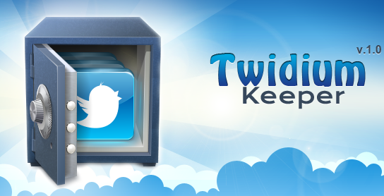 Twidium Keeper новый каталогизатор твиттер-аккаунтов