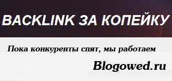 Возможности сервиса Бэклинк за копейку