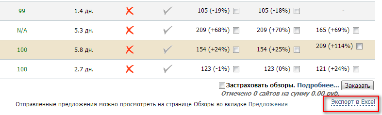 GGL экспорт файла