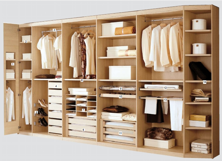 Встроенная мебель на заказ в Санкт – Петербурге