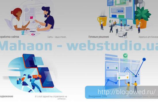 Махаон- вебстудия